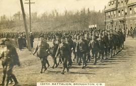 185th Battalion, Broughton