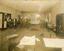 Coal Company Office and Staff, Glace Bay