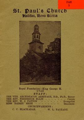 St Paul's Church, Halifax, Nova Scotia