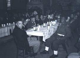 WWII Black Servicemen at Banquet