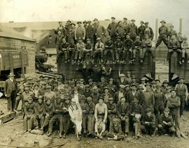 Crew of the Sydney coal washing plant
