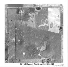 Aerial Photograph of Section 23SSE, Calgary, Alberta