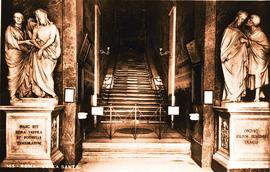 Rome - Scala Santa (The Holy Staircase). It is said to be the staircase that Christ used in Ponti...