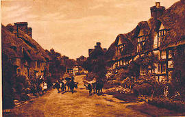 The village Wyre in England.