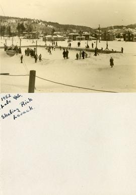1952 Late Feb. Skating Rink Levack