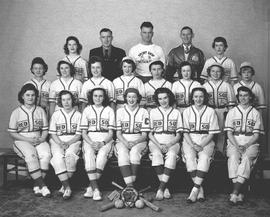 Red Sox, women's baseball team, Wetaskiwin, Alberta.