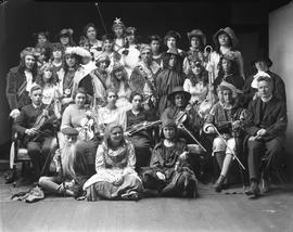 "Cast of the High  School play ""As You Like It,"" Wetaskiwin, Alberta"