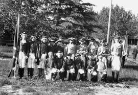 """Pageant of Confederation,"" Canada's Diamond Jubilee celebration, Wetaskiwin, Alberta."