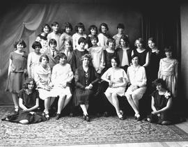 Mrs. Edith Rodell and the Women's Institute Girls (W.I.G.) Club