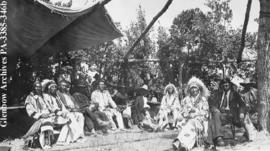 Gathering of the Chiefs, Blackfoot (Siksika) reserve, Alberta.