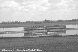 Feature on the last train to Lethbridge, the Dayliner route, Calgary, Alberta.