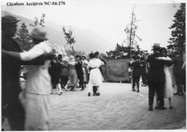 Outdoor dance, Crowsnest Pass area, Alberta.