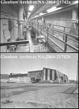 Water treatment plant, Calgary, Alberta.