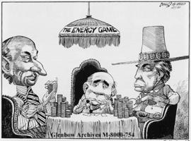 [Gambling continues over the National Energy Policy.]
