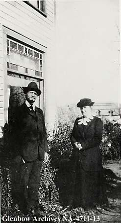 Mr. and Mrs. A.S. Lockrem, Alderson, (formerly Carlstadt), Alberta.