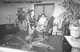Mrs. Walter Tanner and Mrs. Tanner at their home in the 150-suite Westbourne Place, a senior citi...