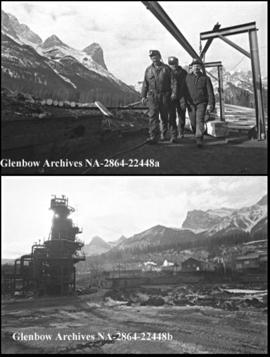 Feature on Canmore mines, Canmore, Alberta.