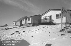 Low cost housing in West Dover area of Calgary, Alberta.