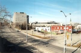 Sleeman Centre from Macdonell Street