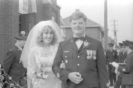 M.W.O. J.D. Stoneburgh and his bride