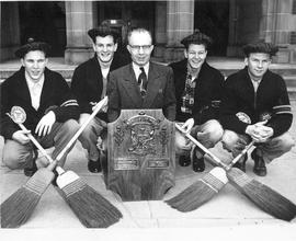 1953 Ontario and Dominion School Curling Champions