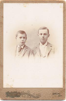 Two unidentified boys
