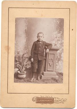 Unidentified boy
