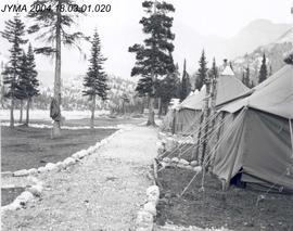 87th Mountain Infantry Detachment, United Sates Army base camp, Columbia Icefield, AB