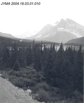 Mount Thompson, Portal Peak, and Bow Peak, Banff National Park, AB