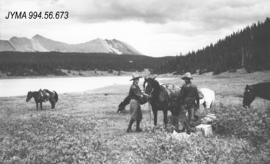 [Gatty Party Expedition : Trip to Mount Alexander],  Jasper National Park