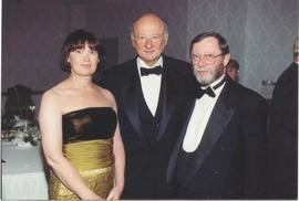 Ed Koch with the Kipneses.