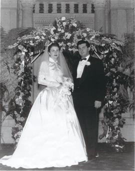 Wedding of Larry Rollingher and Tulane Stillpass.