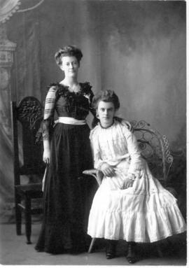 Connie and Dorothy Forrester / Castor, Edmonton, Alberta.