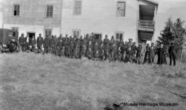 Chiefs and priests at Onion Lake, Saskatchewan