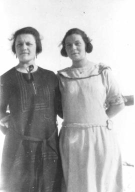 Bertha Bellerose and Annie Ryan