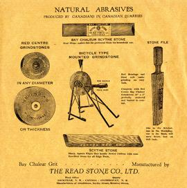 Natural Abrasives Advertising Sample