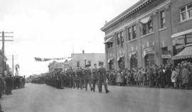 Victory Loan parade, Red Deer