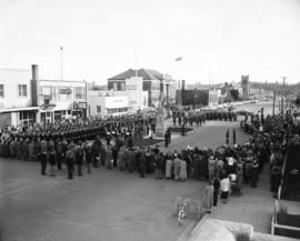 Remembrance Day service, Red Deer