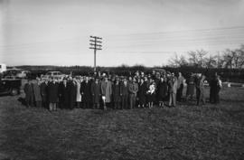 Sod turning ceremony, Red Deer