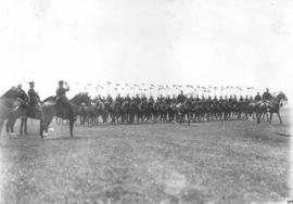 Cavalry squadron at Royal Military College