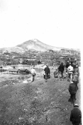 View of Butte, Montana