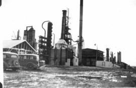 British American Oil Co. refinery, Coutts