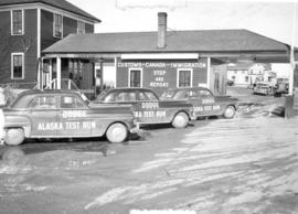 Alaska Test Run Cars at Canada Customs