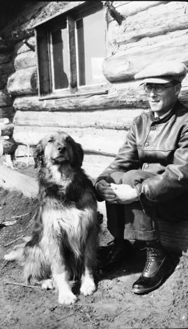 Clyde Campbell and His Dog