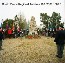 Remembrance Day, Grande Prairie, Alberta.