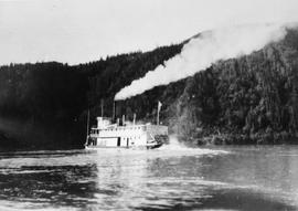 Steamship on the Peace River