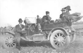 First Automobile In Grande Prairie