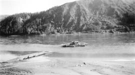 The Wapiti River Ferry