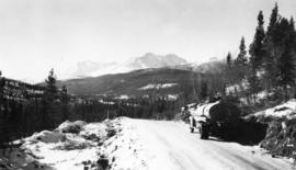 Winter Road Construction