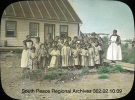 Native girls at Aklavik Roman Catholic Mission